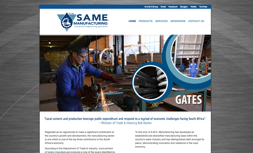 same-manufacturing-website - Creative Identity