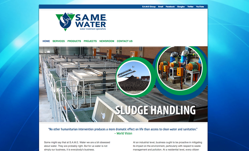 same-water-website - Creative Identity