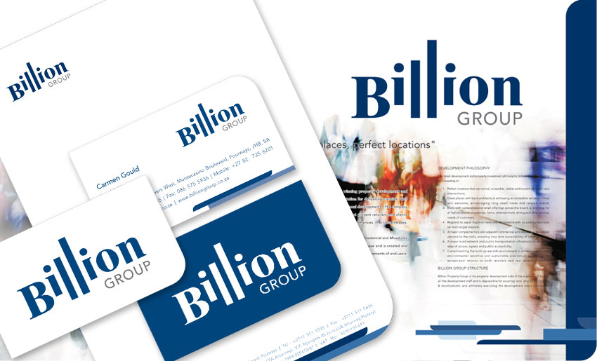 billion-stationery - Creative Identity