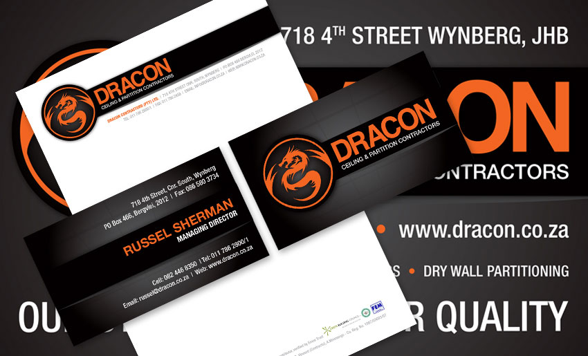 dracon-stationery - Creative Identity