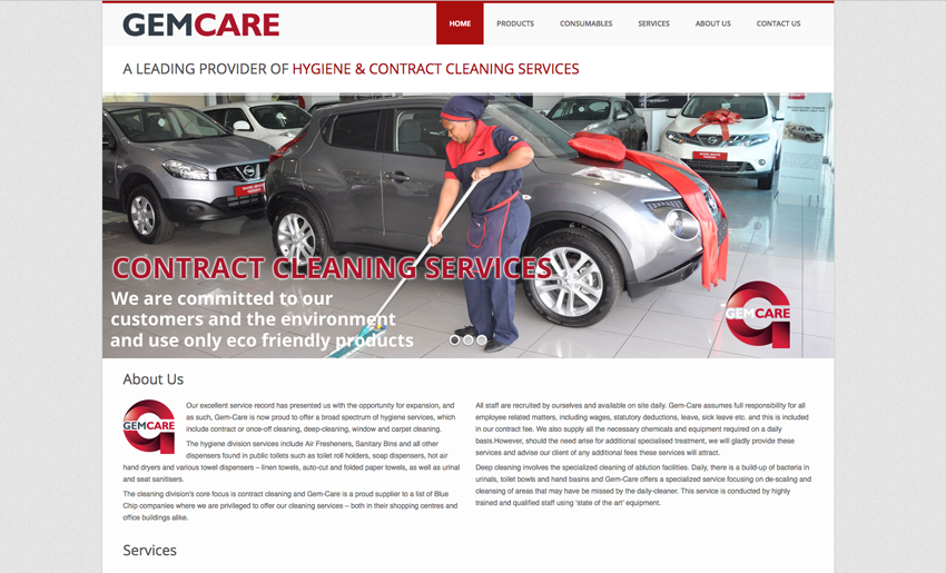 gemcare-website - Creative Identity