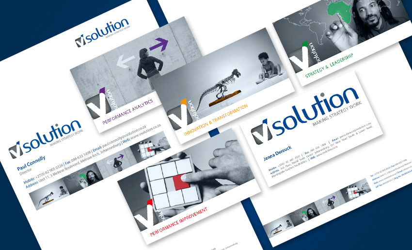 vsolution-stationery - Creative Identity